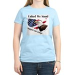 United We Stand Support our t Women's Pink T-Shirt
