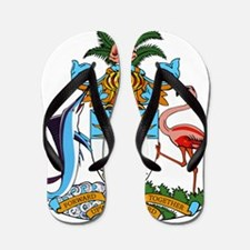 Bahamas Coat Of Arms Flip Flops
