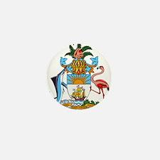 Bahamas Coat Of Arms Mini Button