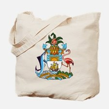 Bahamas Coat Of Arms Tote Bag