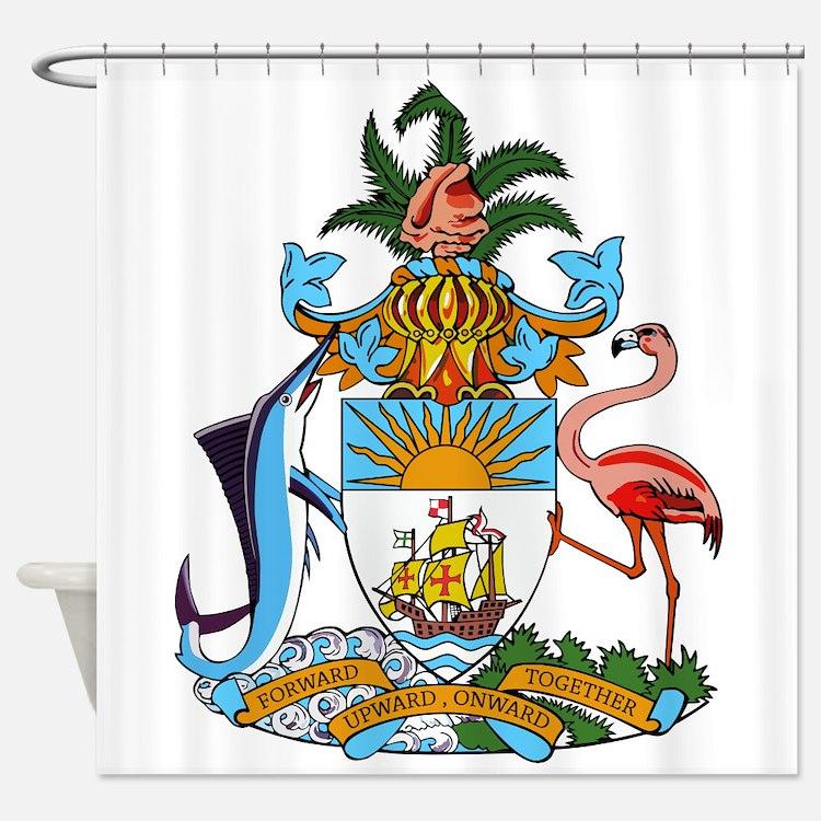 Bahamas Flag Towel