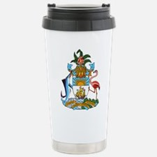 Bahamas Coat Of Arms Travel Mug