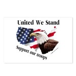 United We Stand Support our t Postcards (Package o