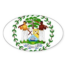Belize Coat Of Arms Decal