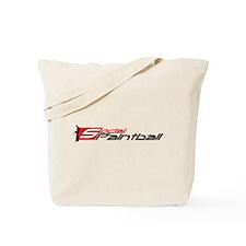 Social Paintball Black Logotype Tote Bag