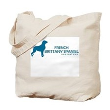 "French Brittany Spaniel ""One Cool Dog"" Tote Bag"