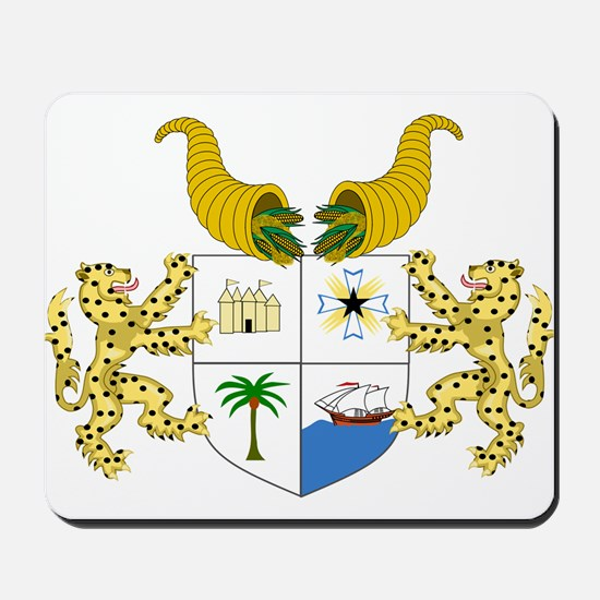 Benin Coat Of Arms Mousepad