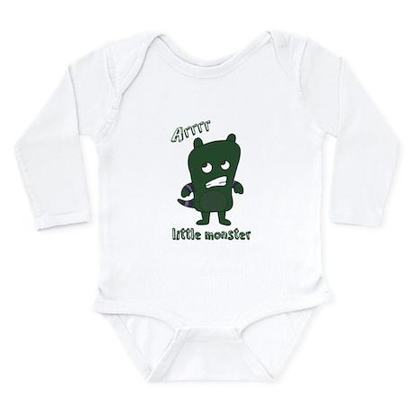 Little Monster Rylan Long Sleeve Infant Bodysuit