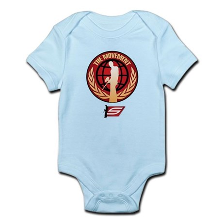 Social Paintball - Emblem Gold Infant Bodysuit