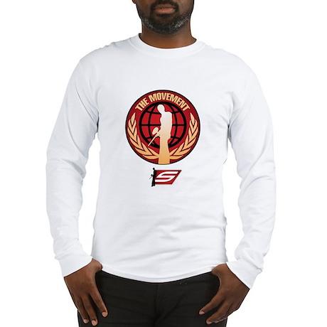 Social Paintball - Emblem Gold Long Sleeve T-Shirt