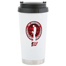 Social Paintball - Emblem Red Travel Mug
