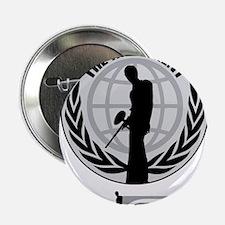"Social Paintball - Emblem Silver 2.25"" Button"