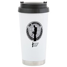 Social Paintball - Emblem Silver Travel Mug