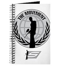 Social Paintball - Emblem Silver Journal