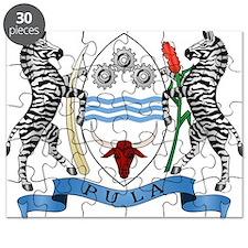 Botswana Coat Of Arms Puzzle