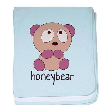 HoneyBear baby blanket