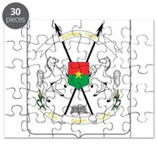 Burkina Faso Coat Of Arms Puzzle