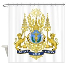 Cambodia Coat Of Arms Shower Curtain
