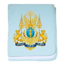 Cambodia Coat Of Arms baby blanket