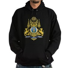 Cambodia Coat Of Arms Hoodie