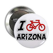 "I Love Cycling Arizona 2.25"" Button"