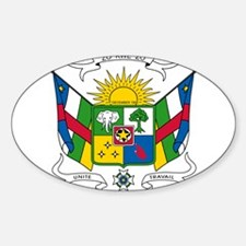 Central African Republic Coat Of Arms Decal