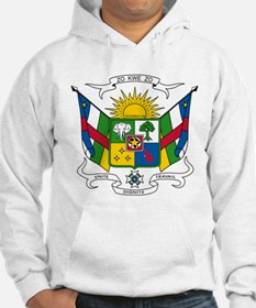 Central African Republic Coat Of Arms Hoodie