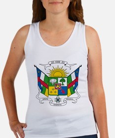 Central African Republic Coat Of Arms Women's Tank