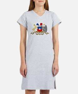 Chile Coat Of Arms Women's Nightshirt