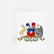 Chile Coat Of Arms Greeting Card