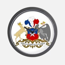 Chile Coat Of Arms Wall Clock