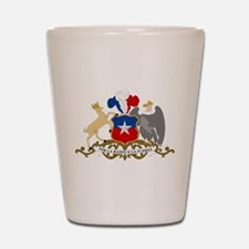 Chile Coat Of Arms Shot Glass