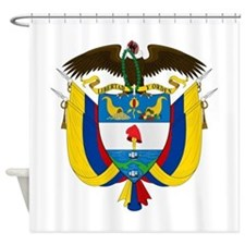 Colombia Coat Of Arms Shower Curtain