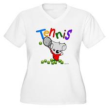 Tennis Koala Bear T-Shirt