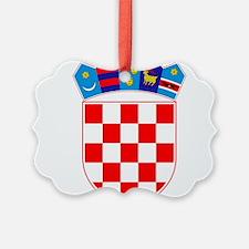 Croatia Coat Of Arms Ornament