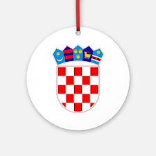 Croatia Coat Of Arms Ornament (Round)