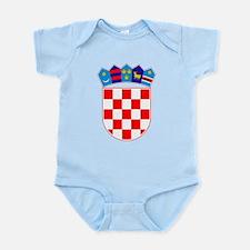 Croatia Coat Of Arms Infant Bodysuit