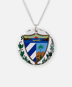 Cuba Coat Of Arms Necklace