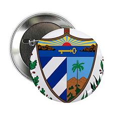 "Cuba Coat Of Arms 2.25"" Button"