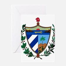 Cuba Coat Of Arms Greeting Card