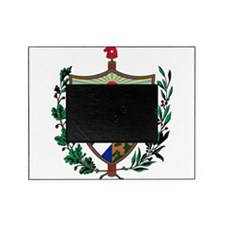 Cuba Coat Of Arms Picture Frame