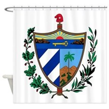 Cuba Coat Of Arms Shower Curtain