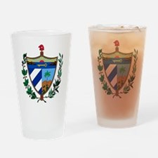 Cuba Coat Of Arms Drinking Glass