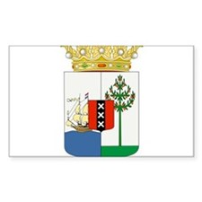 Curacao Coat Of Arms Decal