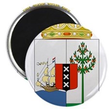Curacao Coat Of Arms Magnet