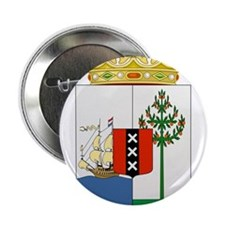 "Curacao Coat Of Arms 2.25"" Button"