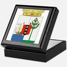 Curacao Coat Of Arms Keepsake Box