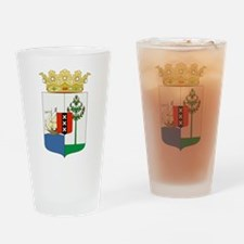 Curacao Coat Of Arms Drinking Glass