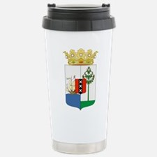 Curacao Coat Of Arms Travel Mug