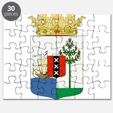 Curacao Coat Of Arms Puzzle